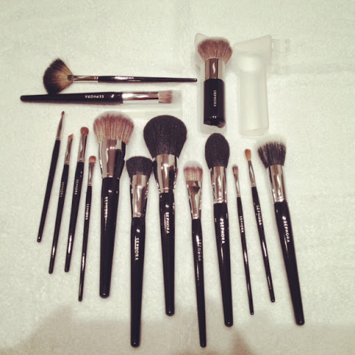 sephora brushes galore